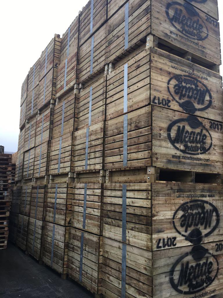Potato Boxes / Crates