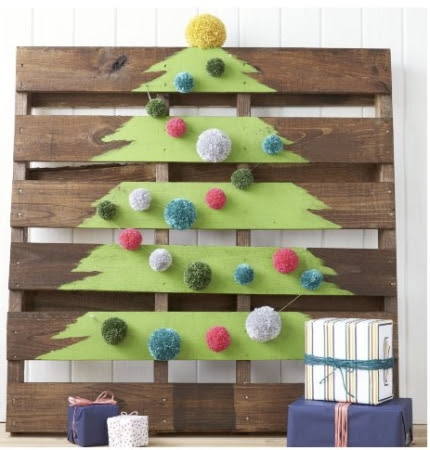 Christmas Pallet Tree