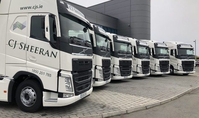 New Volvos FH460s 4x2s Added To The CJS Fleet